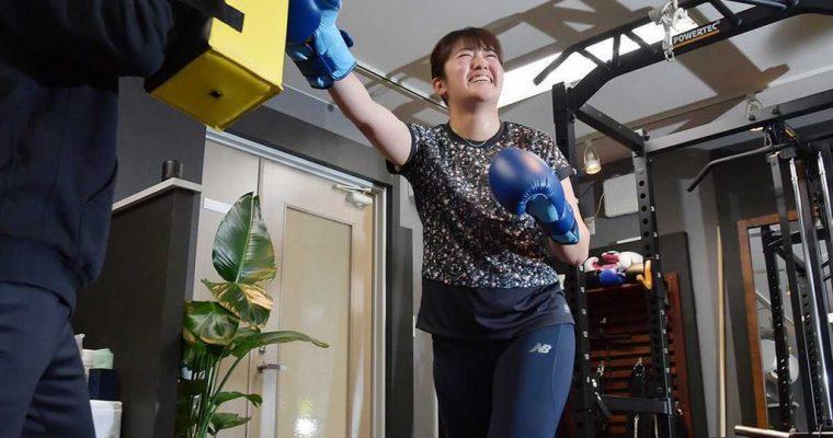 稲見萌寧選手の公開練習で当ジムにて撮影が行われました!